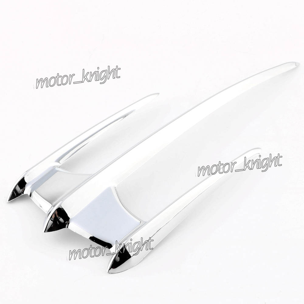 Chrome Triceptor Front Fender Accent Tip for Yamaha Raider Road Star XV1600 1700 1900 XVS1300 V Star 1100/<font><b>1300</b></font>/250/650/950 image