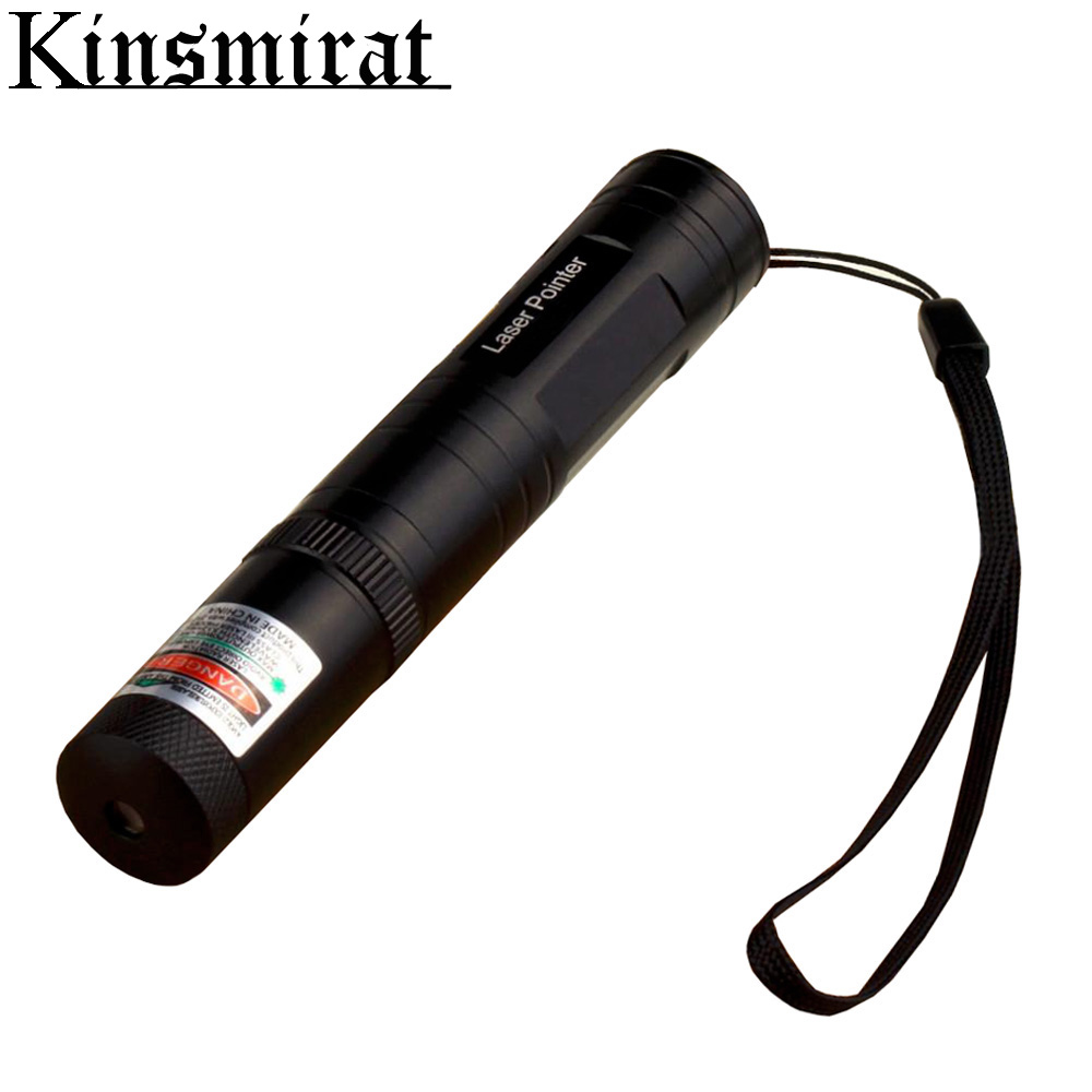 Kinsmirat Green Laser Pointer Fixed Focus Lasers Head Range CNC Lazer Pointer With Star Cap