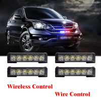 1set Led Ambulance Police light Car Light Flashing Firemen Lights Strobe Warning light bar Car Styling DC 12V 24V