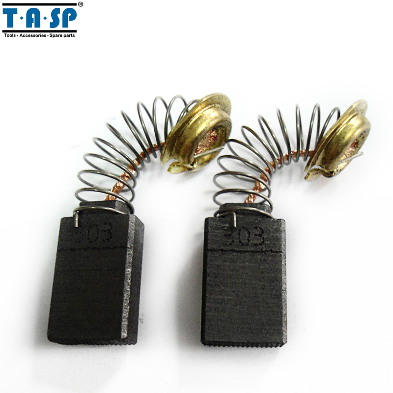 TASP Carbon Brushes 5x11x17mm 5 Pairs For Makita CB 303 CB303