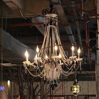 European Crystal Chandeliers Lustre Led Crystal Chandelier Lighting For Bar Cafe Living Room Lobby Hotel Villa Engineering