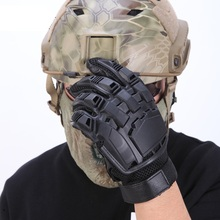 Men Tactical Gloves Outdoor Protective Mountaineering Gauntlet Hiking Camping Survival Mittens Full Finger