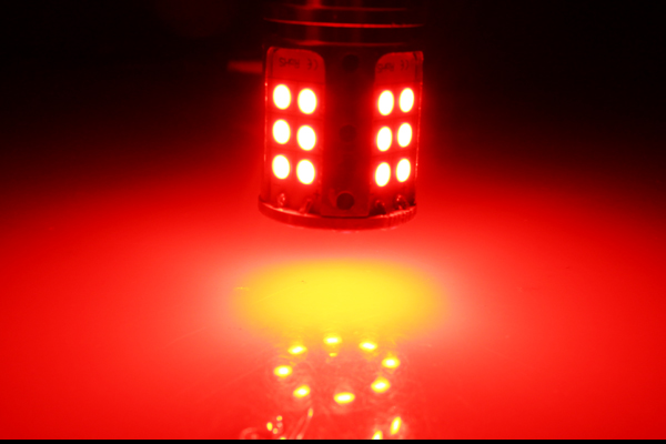 32smd, lâmpadas traseiras de freio de carro