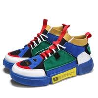 2019 Men Vulcanize Shoes Brand Summer Shockproof Casual Canvas Shoes Male Sport Superstar Men Flats Ultras Boosts Krasovki NO159