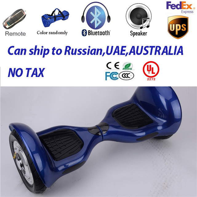 2 Wheels Self Balance Electric Scooters 10inch Skateboard Hands Free Hover Board Roller Smart Wheel