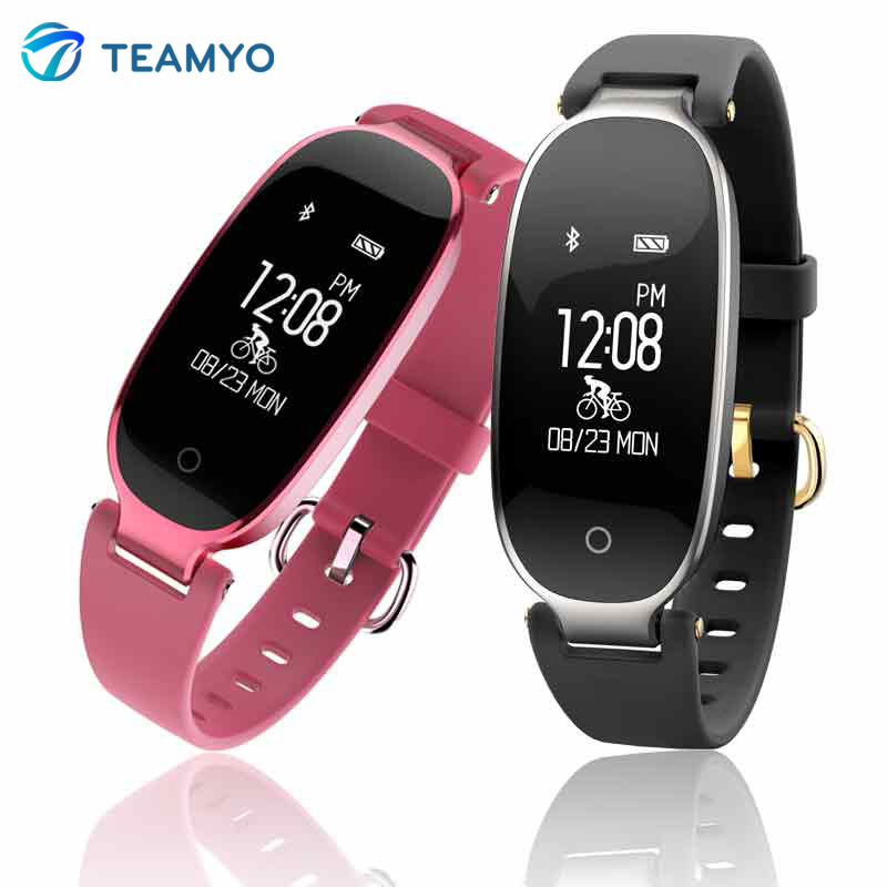 Teamyo S3 Smart Bracelet Heart Rate Monitor Fitness Tracker Activity Monitor Smart Wristband Pedometer Watches For