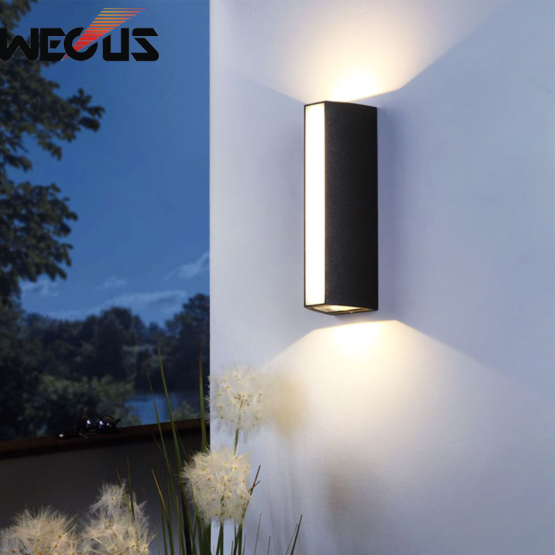 LED outdoor lighting modern creative waterproof wall light balcony residential buitenverlichting villa restaurant bra lamp