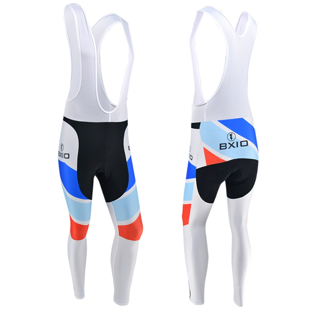 BXIO Winter Cycling Pants Long Bike Clothing MTB Bicycle Trousers 3D Gel Pad Pro Team Invierno Ropa Ciclismo Pantalones 091-P