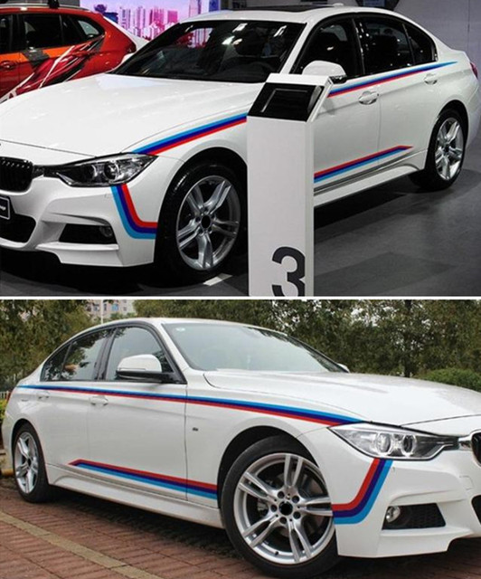Aliexpresscom  Buy M Performance Rally Side Racing Vinyl - Bmw vinyl stickers