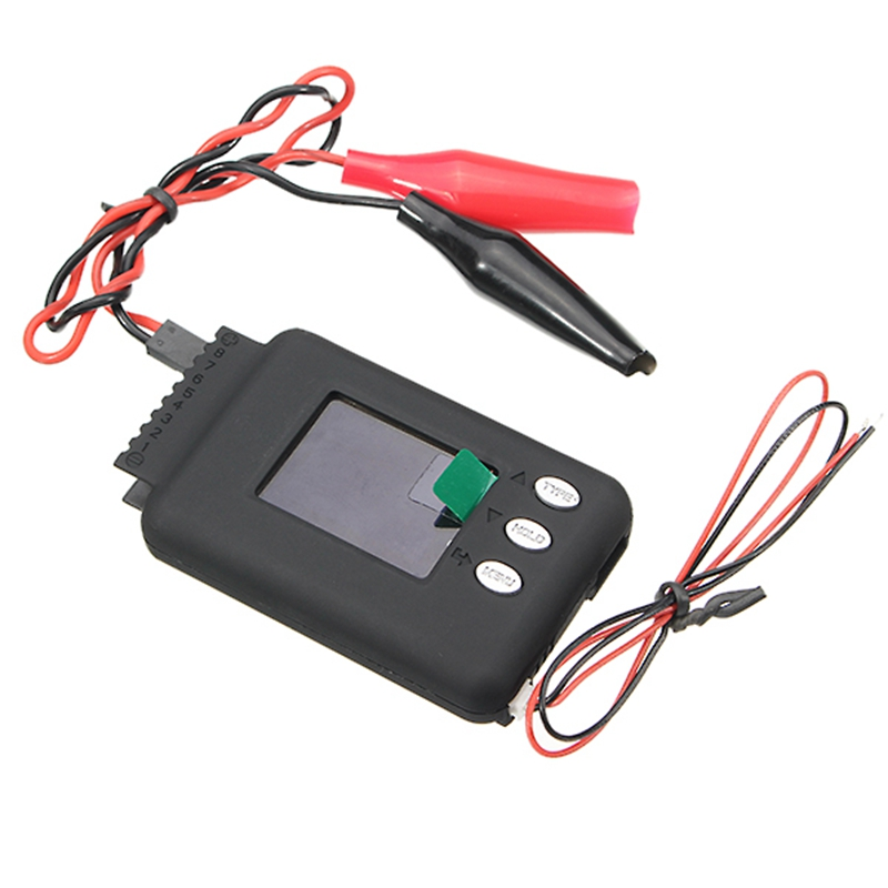 New Arrival CellLog 8M Multifunctional Digital Battery Capacity Tester Small Sizemultiple Functions For RC Helicopter Batteries new arrival micro 468 car battery system tester for 12v