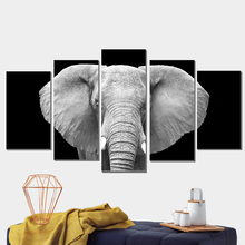 Elephant Oil Painting Drawing Canvas Poster Anime Animal Print Photo Modular Pictures Pop