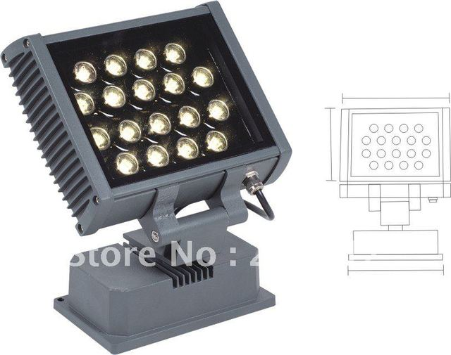 High brightness waterproof IP65 18w led floodlight