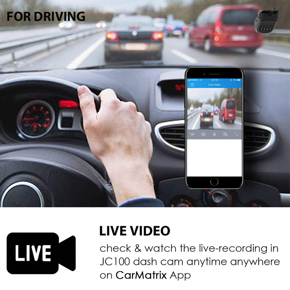 US $149 33 16% OFF|Jimi New JC100 3G 1080P Smart GPS Tracking Dash Camera  Car Dvr Live Video Recorder & Monitoring by PC Free Mobile APP-in DVR/Dash