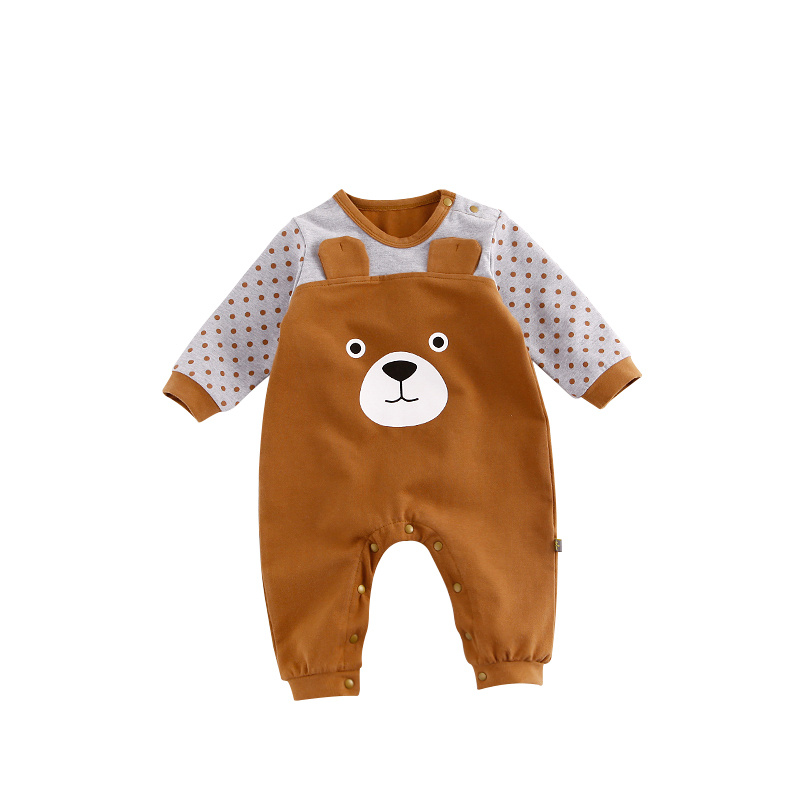 Lente Herfst Pasgeboren Peuter Zuigeling Schattige Babykleding Lange - Babykleding - Foto 3