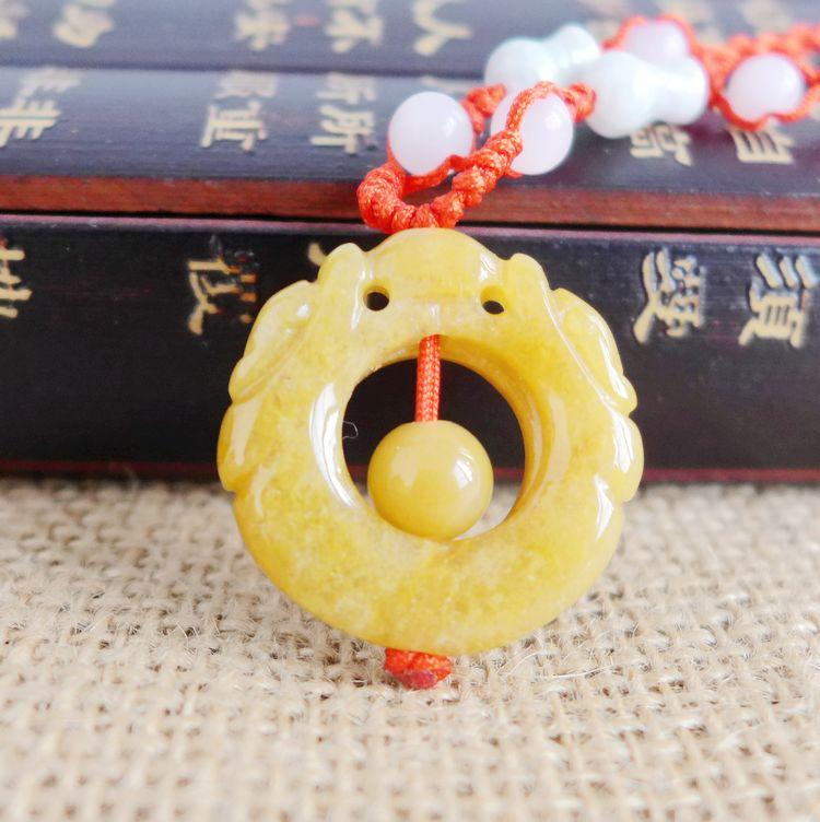 Pendentif porte-clé Long Yi Huang Chi dragon Qiankun pour aider au transport 8060060 mascotte chanceuse