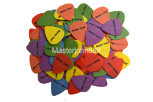 Lots of 100pcs Master John Colorful POM Delrin Standard Shape Electric/Acoustic Guitar Picks 6 Thickness Assorted Free Shipping