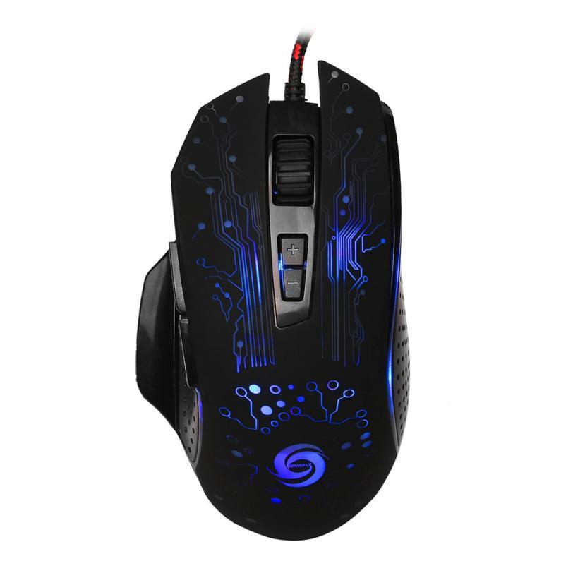 100% QualitäT 2017 Gute Verkauf 3200 Dpi 8d Tasten Led Mechanische Wired Gaming Mouse Für Pc Laptop J21 Rheuma Und ErkäLtung Lindern