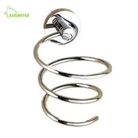 AUSWIND Modern Solid Brass Material Bathroom Accessories Storage Rack Holder Bathroom Hair Dryer Holder