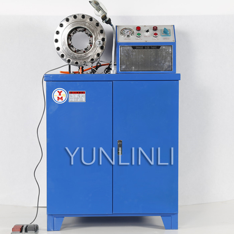 Steel Tube Pressing Machine Steel Pipe Shrinking Machine Automatic Crimping Machine High Pressure Pipeline Processer YM500 C