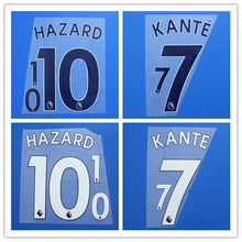 18-19 Chelseaes JORGINHO FABREGAS KANTE HAZARD WILLIAN DAVID LUIZ PEDRO RUDIGER MORATA GIROUD number font print, patches badges(China)