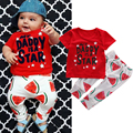 3 to 18 Months 2Pcs Baby Tops+Pants Toddler Kids Baby Boy Girl Clothes Short Sleeve Cotton T Shirt+Long Pants Outfits Clothing