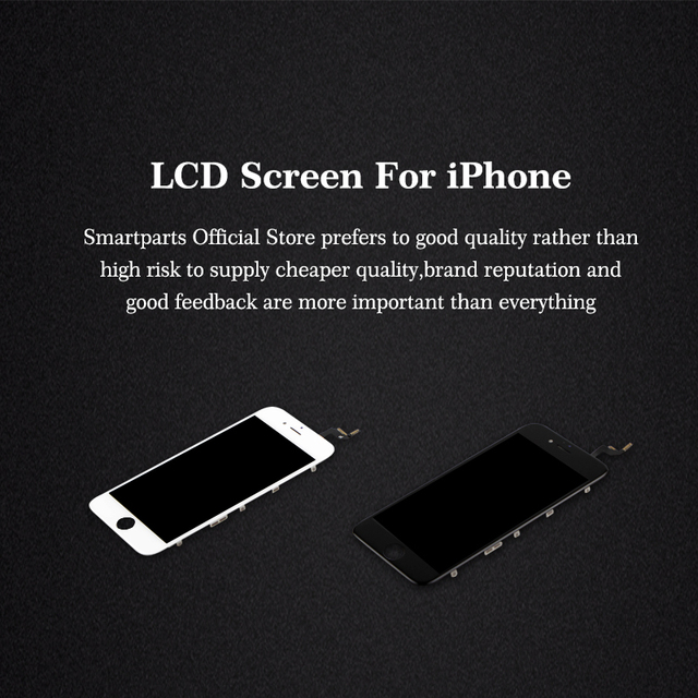 20PCS Premium TIANMA ESR LCD Display For iPhone 6 6S 7 8 Plus LCD Touch Screen Digitizer Assembly Free DHL