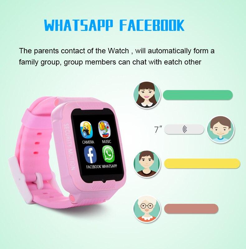 Sporting Kinder Smart Uhr Armbanduhr 1,44 Zoll Touchscreen £ Positionierung Remote Überwachung Smartwatch Beleuchtung Sos Uhr Sim Anrufe Fein Verarbeitet High-tech-spielzeug
