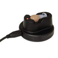 Hearing Aid , Professional Mini In Ear Sound Voice Amplifier invisible Hearing Aid