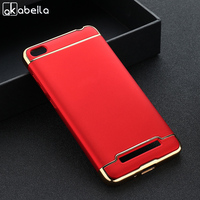 Soaptree   Phone   Case For Xiaomi Redmi 4A Redmi4A Red Rice 4A 5.0 inch Plating Plastic   Mobile     Phone   Bags Covers   Housings   Hoods