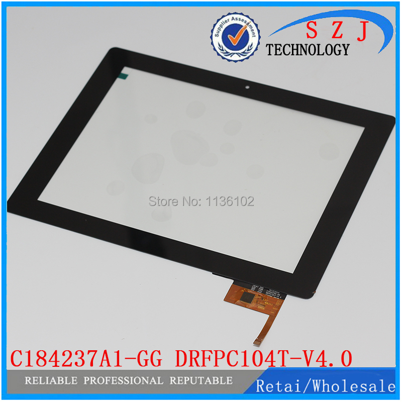 (Ref: HOTATOUCH C184237A1-GG DRFPC104T-V4.0) New 9.7 inch touch screen digitizer touch panel glass Free shipping