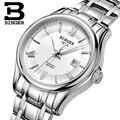 Швейцария Бингер женские часы люксовый бренд часы женские механические наручные часы сапфир нержавеющая сталь montre femme B5002L