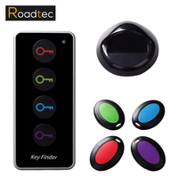 ROADTEC Locator Phone Wallets Anti Lost With Torch Function 4 Receivers And 1 Dock Key Finder