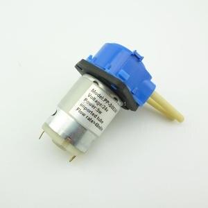 DC 24V 5W Dosing pump dosing Head For Aquarium Lab Analytical water micro tubing pump micro peristaltic pump