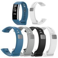 Pulseira de silicone para relógio, pulseira ajustável, macia, substituição para huawei band 2/band 2 pro/ERS B19/ERS B29 alça
