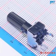 100 шт. 10K(103) Ом B-type линейный 18 мм поворотный потенциометр с валом триммер, переменный резистор