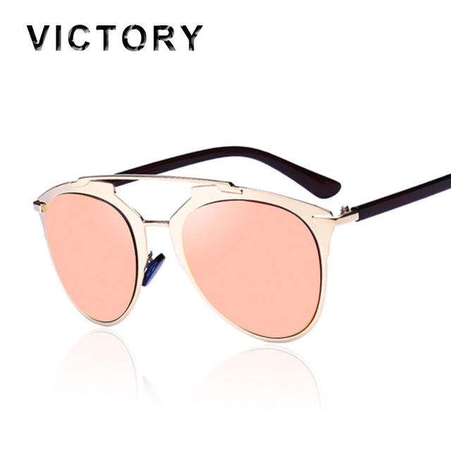 5428fba3d8b Fashion Sunglasses Cat Eye Women Or Men Superstar Vintage Brand Designer  Metal Frame Celebrity Sun Glasses Male Female
