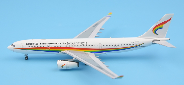 Pan daModel 1:400 Air China Tibet A330-200 B-8950 Alloy aircraft model Collection model Holiday gift fine special offer jc wings 1 200 xx2457 portuguese air b737 300 algarve alloy aircraft model collection model holiday gifts