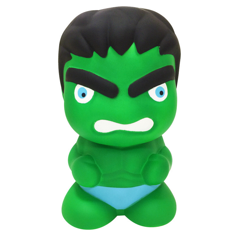 Jumbo Super Giant Avenger Hulk Slow Rising Squishies Toy Big Figures Super Hero Squishes Stress Relief Toys For Children