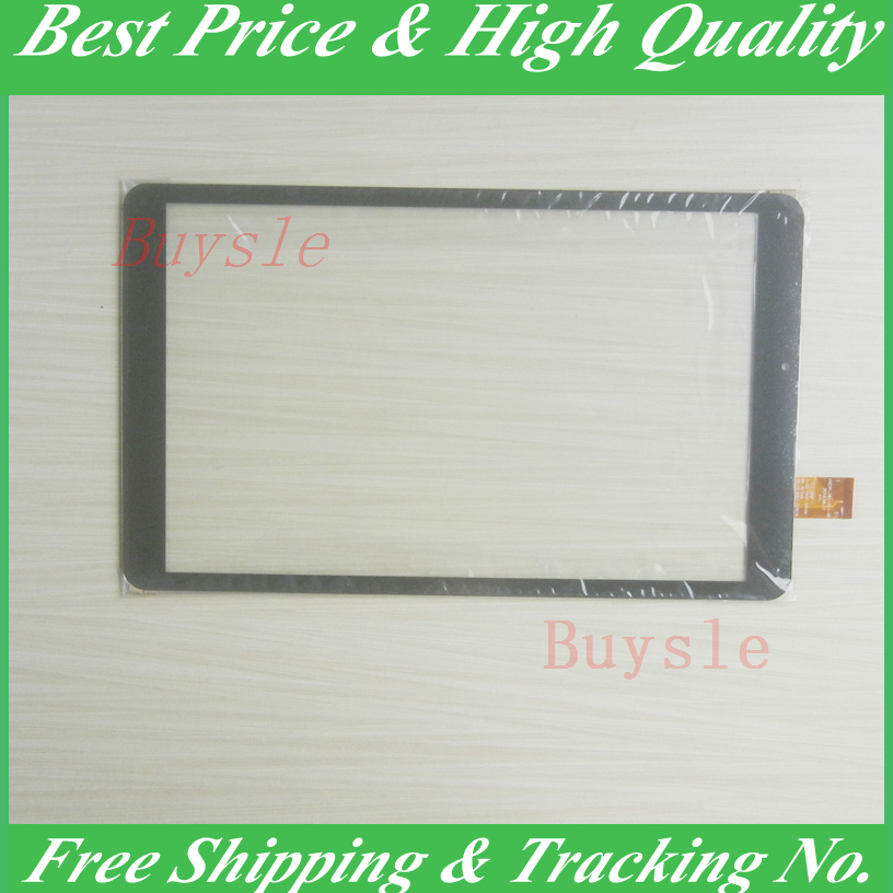 Black New For HSCTP-787-10.1-V0 10.1 Inch Touch Screen Panel Digitizer Sensor Repair Replacement Parts HSCTP-787-10.1 repair parts replacement touch screen digitizer for nintendo 3ds