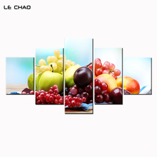 ФОТО Wall Picture Decor Wall Art Canvas for Kitchen Canvas Painting Print Fruits Modular Picture Home Decoration Poster Drop