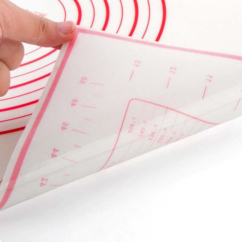 Non Stick Silicone Baking Mat Pastry Dough Rolling Sheet