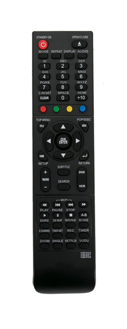 US $9 11 8% OFF|New Remote Control NB662 NB887 NB958 fit for MAGNAVOX DVD  VCR RZV427MG9A ZV427MG9 DV200MW8 DV200MW8A RZV427MG9 ZV427MG9A MBP5210-in