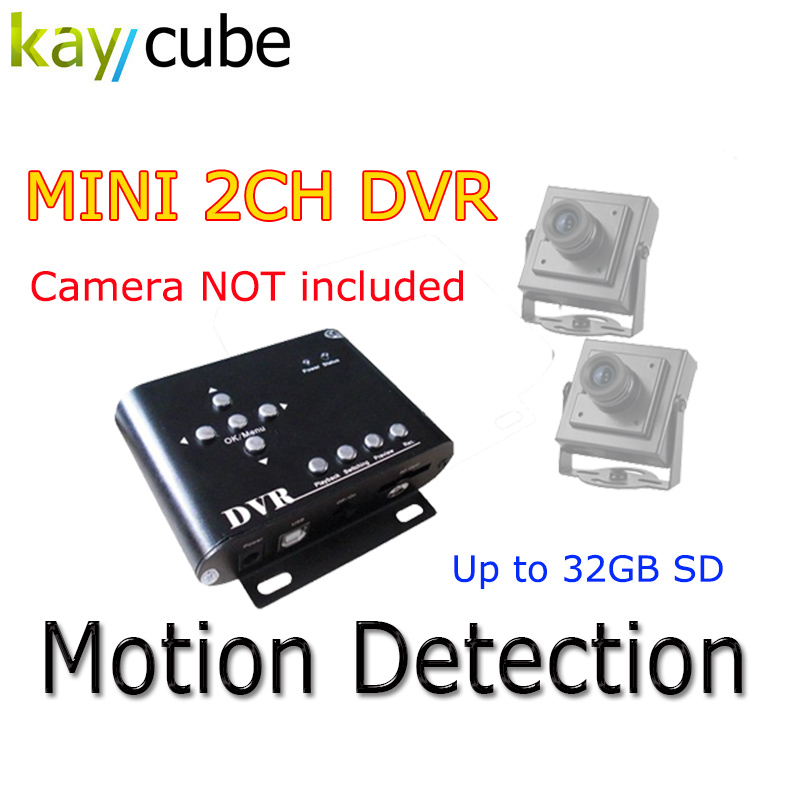 2CH Car Security DVR Mini DVR SD Video/Audio CCTV Camera Recorder 2CH Car Security Mini DVR SD Video/Audio CCTV Recorder 2ch car dvr kit including 1pcs 2ch car dvr 2 car cameras 2 video cables diy installation dvr kit