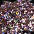 Diamond Shape 2mm Size Rhombic Nails Art Decoration Tool Paillette Glitter 3D Colorful Sparkly Laser PinkLB911