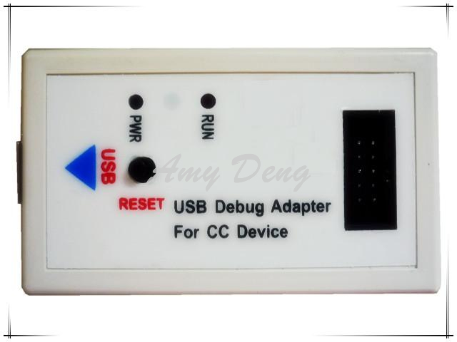 Free shipping High quality CC2430 CC2530 CC1110 programming emulator downloader debugger