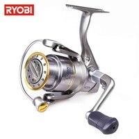 RYOBI EXCIA Spinning Reel Metal 8 1BB Max Drag 8kg Carp Fishing Reel Moulinet Spinning Leurre