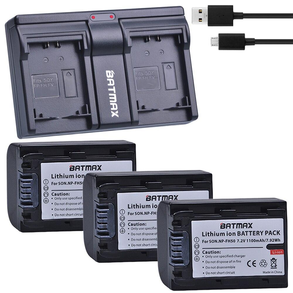 Cámara de batería cargador Micro USB para Sony Alpha DSLR-a330l