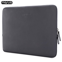 MOSISO PU Laptop Sleeve Bag for MacBook Air 13 inch Waterproof Notebook Bag Case For MacBook Dell HP Lenovo Asus Women Men Cover