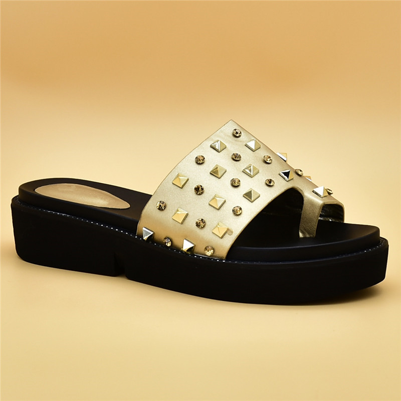 Gold rouge La Glissement Africaines Zapatos black Chaussures Femmes Chaussure Sur sliver Pour Luxe De Robe Strass Décoré Mujer Mariage Avec aUP4qUxz