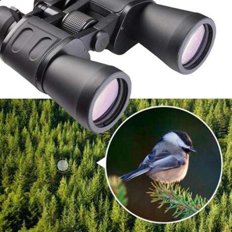 10x-180x100 jumelles Zoom étanche jumelles télescope puissantes Vision nocturne pliable outils multifonctions pour l'observation des oiseaux